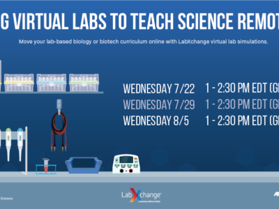 Virtual Workshop: Using Virtual Labs to Teach Science Remotely